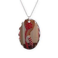 Christmas Bow 1 Necklace