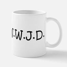 WWJD Small Small Mug