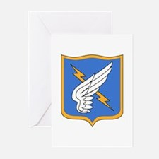 25th Aviation Regiment -DUI - Greeting Cards (Pk o