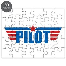 Pilot Aviation Wings Puzzle