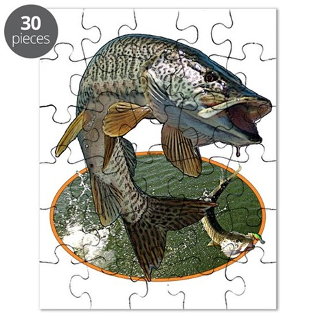 Musky Fishing Puzzle