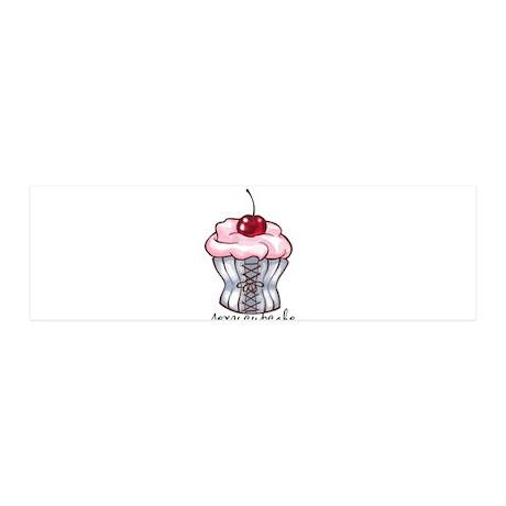 Sexy Cupcake 21x7 Wall Peel