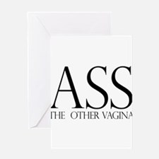 Ass.... (large) Greeting Card