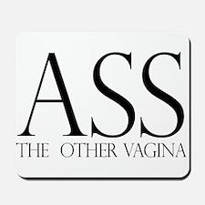 Ass.... (large) Mousepad