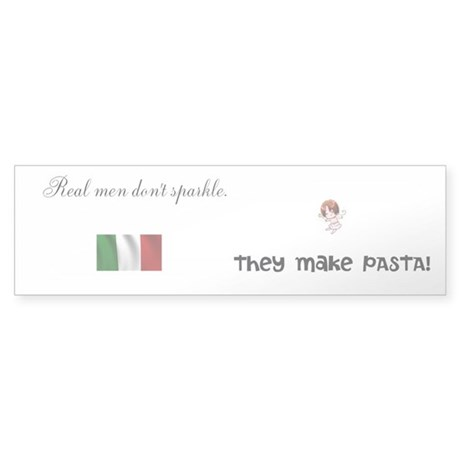 Italy vs. Twilight Bumper Sticker