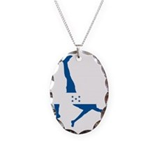 Honduras Soccer Necklace