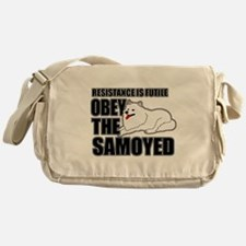 Samoyed Messenger Bag