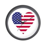 American Heart Wall Clock