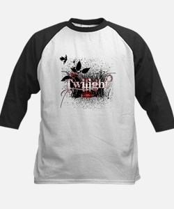 Twilight Forever by Twidaddy Kids Baseball Jersey