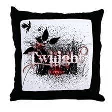 Twilight Forever by Twidaddy Throw Pillow