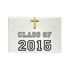 Class Of 2015 Cross Rectangle Magnet