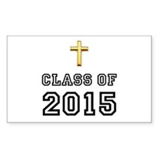 Class Of 2015 Cross Decal