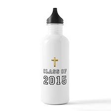 Class Of 2015 Cross Water Bottle