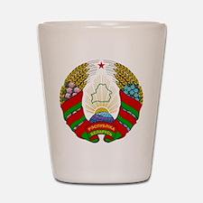Belarus Shot Glass