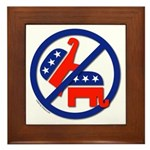 Ban Republican Marriage (sex) Framed Tile