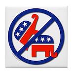 Ban Republican Marriage (sex) Tile Coaster
