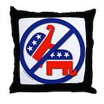 Ban Republican Marriage (sex) Throw Pillow