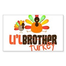 Little Turkey Brother Decal