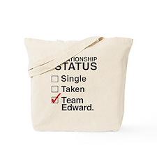 Single Taken Team Edward Tote Bag
