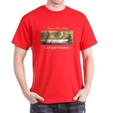 Cooperstown Americasbesthistory.com T-Shirt