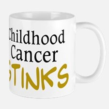 Childhood Cancer Stinks Mug