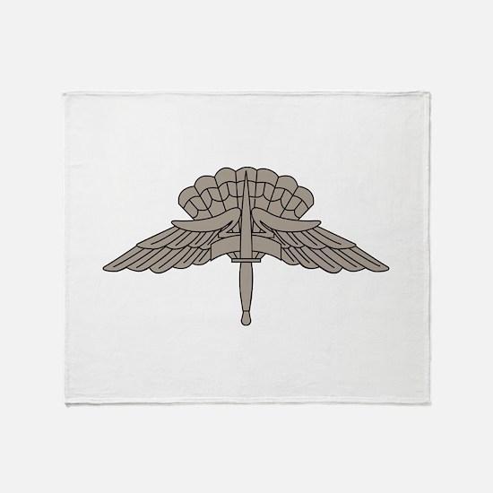 HALO - Grey Throw Blanket