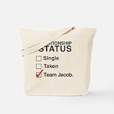 Single Taken Team Jacob Mugs & Totes Tote Bag