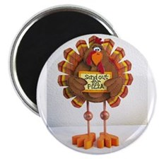 """PLEASE send out for pizza ! 2.25"""" Magnet (100 pack"""