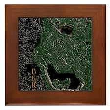 Ogre Monster Kids Framed Tile