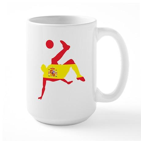 Spain Soccer Large Mug