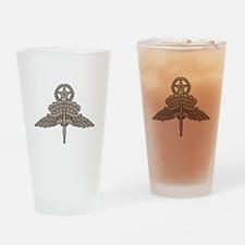 HALO Jump Master - Grey Drinking Glass