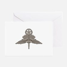 HALO Jump Master - Grey Greeting Cards (Pk of 10)