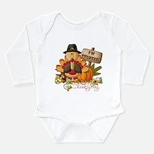 Baby's 1st Thanksgiving Long Sleeve Infant Bodysui