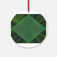 Jade Web Ornament (Round)