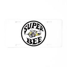 Super Bee design Aluminum License Plate