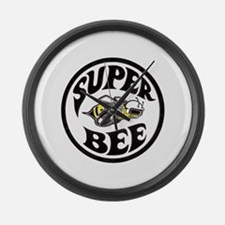Super Bee design Large Wall Clock