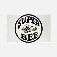 Super Bee design Rectangle Magnet