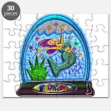 Mermaid Florida Souvenir Puzzle
