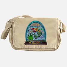 Mermaid Florida Souvenir Messenger Bag