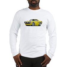 1970 Coronet Yellow-Black Car Long Sleeve T-Shirt