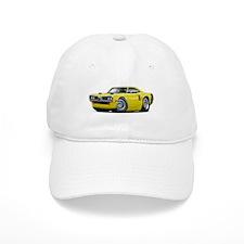 1970 Coronet Yellow-Black Car Baseball Cap