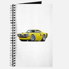 1970 Coronet Yellow-Black Car Journal