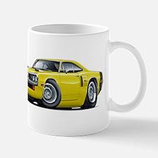 1970 Coronet Yellow-Black Car Mug