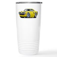 1970 Coronet Yellow-Black Car Travel Mug