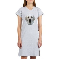 White lab 3 Women's Nightshirt