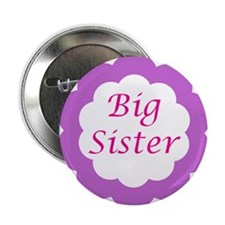 """Cute Big sister 2.25"""" Button (10 pack)"""