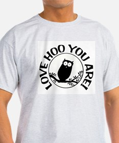 Owl - Love Hoo You Are T-Shirt