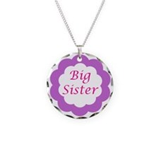 Cute Kids Necklace Circle Charm