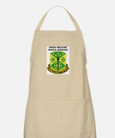 DUI-200th Military Police Command with Text Apron