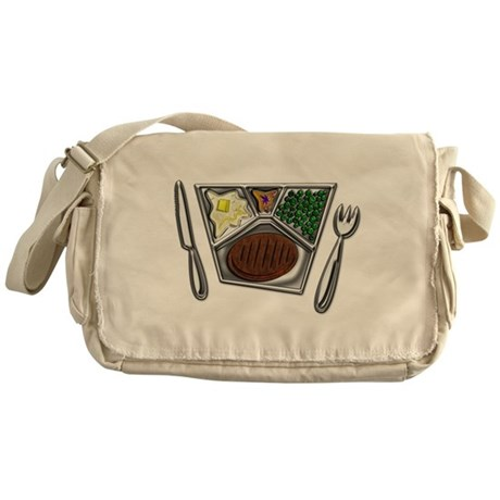 Cooked TV Style Meal Messenger Bag